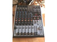 Behringer 12-input mixer with 4 mic preamps - practically brand new