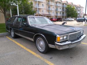 Chevy caprice classic wagon (1985 classic)