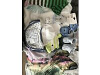 Bundle of boys newborn to 0-3 clothes