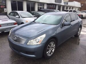 2008 Infiniti G35x ,AWD,luxury sport ,Loaded,Safety ,On Sale !!!
