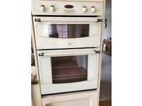 BELLING DOUBLE OVEN, integrated and STOVES NEWHOME GAS HOB