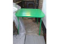 garden table as new