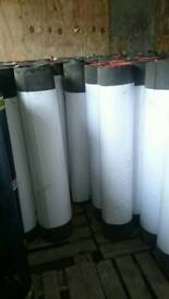 Green mineral shed roofing felt 10m