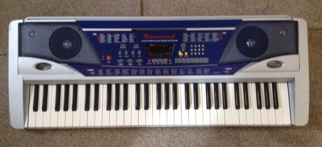 Digital Keyboard 61 Keys - Burswood - Working