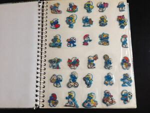 Vintage Sticker and Puffy Sticker Collection