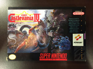 Vintage Collectible SNES Games in Great Condition (Never opened)
