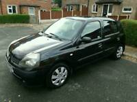 Renault Clio Expression with 9 months MOT.