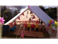 Lily Bell Tents Liverpool