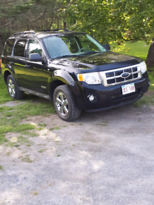 08 escape XLT 3.L V6 4wd sell or trade