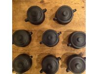 Le Creuset bean pot plus miniatures for sale