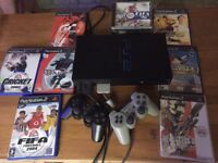 Play station 2 bundle (includes Racing Wheel)