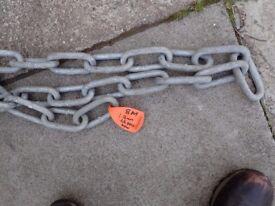 8M Galvanised 16mm chain