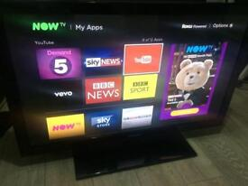 "Samsung 42"" freeview HD TV - excellent condition"