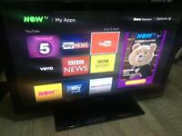 """Samsung 42"""" freeview HD TV - excellent condition"""