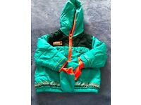 Catamini coat with detachable mitts (age 18 months) VGC