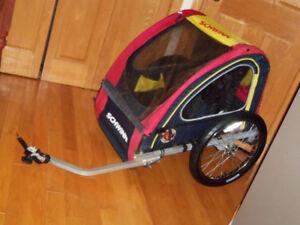 Remorque à vélo schwinn double chariot