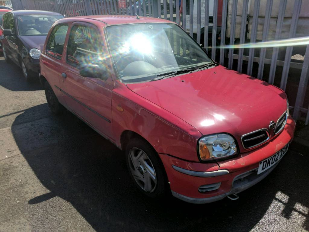 2002 nissa micra cheap insurance 1.0
