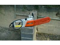 Stihl 240v electric chainsaw