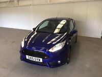 Ford Fiesta ST-2 1.6L 182 3DR One Owner From New. Finance Available.