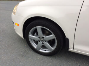 """Volkswagen 17"""" Rims and Michelin 225 45 17 Tires VW 17"""