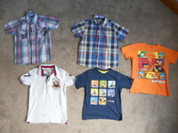 Boys Shirts and T-shirts age 8-9 years