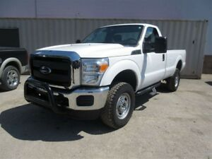 2015 Ford F-250 XL 4x4 SD Regular Cab 8 ft. box 137 in. WB