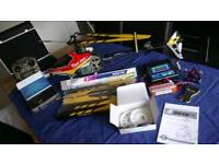 Helicopter, spares and accessories