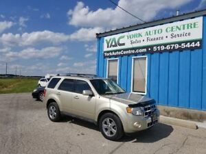 2011 Ford Escape Limited 4WD V6;Self Parking!Leather!Sunroof!
