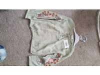 7 yr brand new with tags top an shirts set