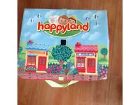 HAPPYLAND PLAY SET (In zip up box with handles)