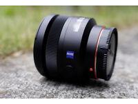 Sony SAL85F14Z 85mm F1.4 ZA Lens for A-Mount