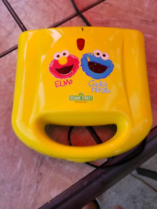 Elmo and Cookie monster waffle maker