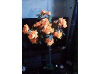 Lovely artificial orange standard rose forsale