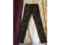 Zara trousers, Size 6.