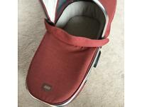 Special Edition Rust Tweed Carrycot