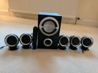 Sony SRS-D511 Speaker System with Subwoofer