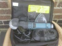 CORDLESS CUTTER AND SANDER WITH CHARGER £40