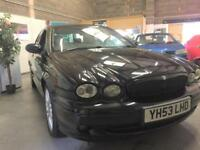 2003 53 Jaguar X-TYPE 2.0D Sport,Leather Trim