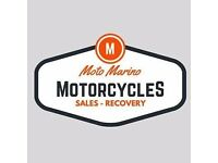 Motorcycle Recovery Delivery (Qualified)