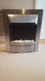 Electric Fire - Stainless Steel