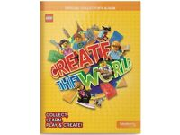 Lego sainsbury Create the world album