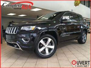 2015 Jeep Grand Cherokee OVERLAND NAVIGATION TOIT PANORAMIQUE CU