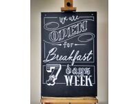Inexpensive Chalkboard Sign Writer