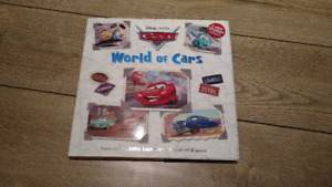 ⭐ English Book World of Cars Disney