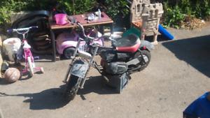 Looking for Baja bikes and mini bikes