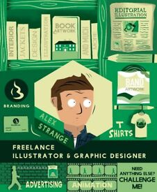 Freelance Illustration and Design services for Hire