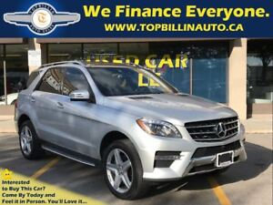 2015 Mercedes-Benz M-Class ML350 BlueTEC 4MATIC AMG Package