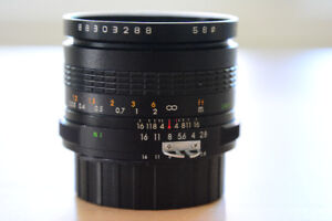 Makinon 24mm f/2.8 for Nikon F mount
