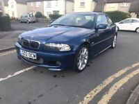 BMW 330ci M SPORT WITH VERY RARE SMG GEAR BOX. 2002. 2DR COUPE.