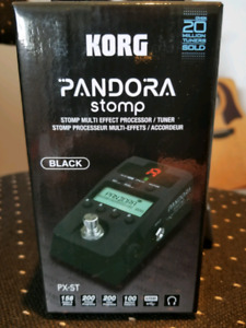 Korg Pandora Stomp - PX-ST - Effects Pedal - New
